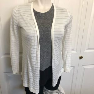 Ann Taylor factory white lightweight cardigan MP